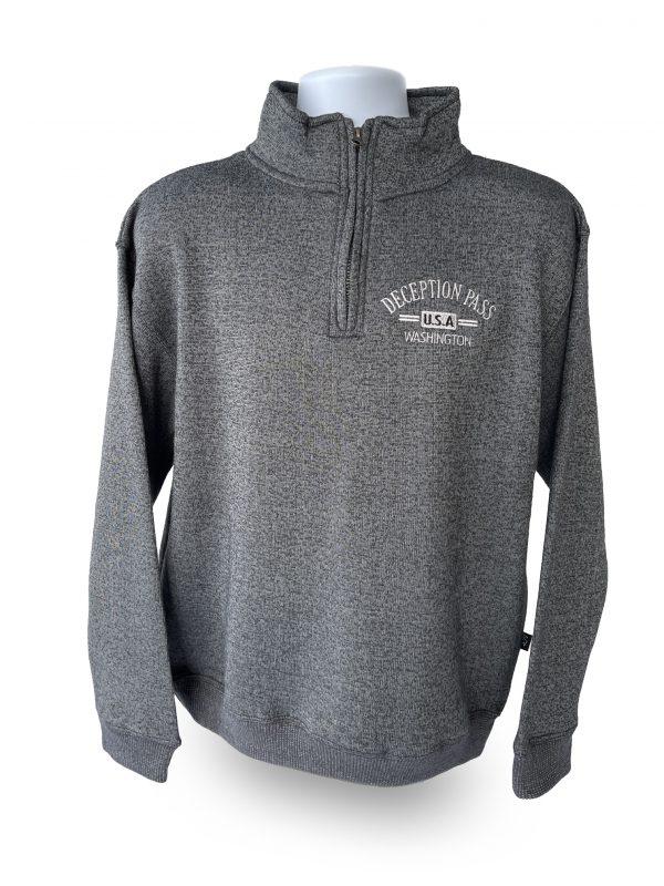 DeceptionPass USA 1/4 Zip Sweater.