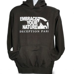 Black Hoodie - Embrace Your Nature.
