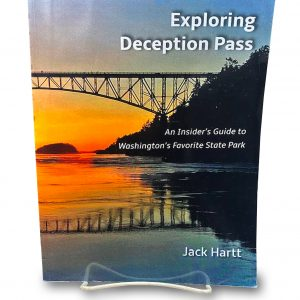 A book - Exploring Deception Pass.