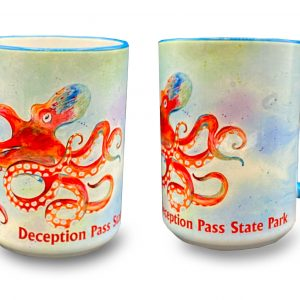 Leo the Octopus mug - Deception Pass Park Foundation.